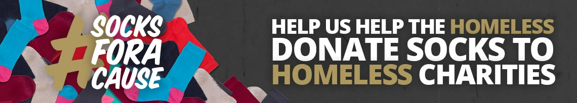 Help us help the homeless - find out more >