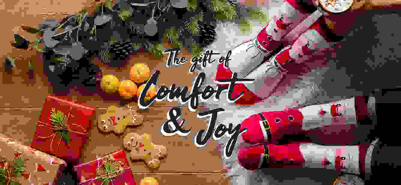 SOCKSHOP - Give the gift of comfort and joy this Christmas.