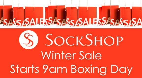 SockShop Winter Sale Starts 9am Boxing Day at SockShop.co.uk