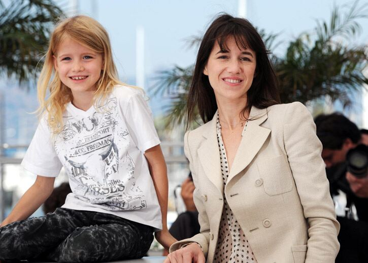 Charlotte Gainsbourg showcases a classic South of France look in Cannes. Fiona Hanson/PA Wire