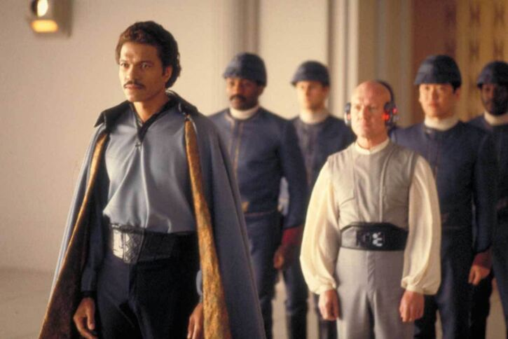 Whether you can trust him of not, Lando is still the coolest. Image courtesy Disney