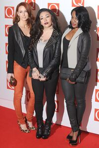 Original Sugababes show off their pins in leggings