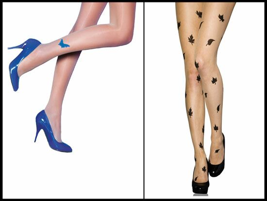 Ladies Tattoo Tights