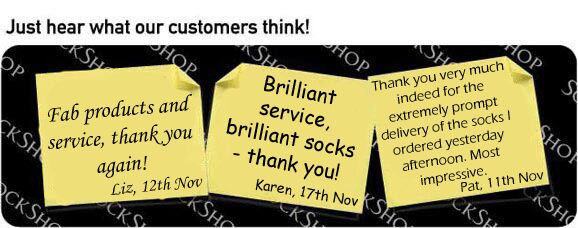 What our customers think at SockShop.co.uk- 18th November 2009