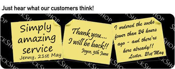 What our customers think at SockShop.co.uk - 7th June 2010