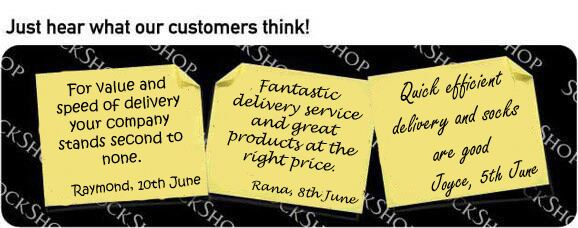 What our customers think at SockShop.co.uk - 14th June 2010