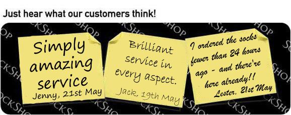 What our customers think at SockShop.co.uk - 1st June 2010