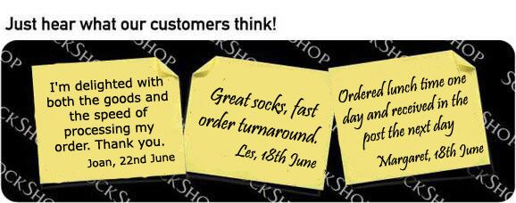 What our customers think at SockShop.co.uk - 28th June 2010