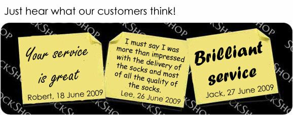 What our customers think at SockShop.co.uk- 1st July, 2009