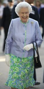 The Queen wears florals at Chelsea