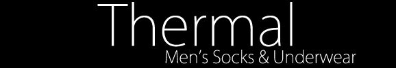 Shop Men's Thermal Socks & Men's Thermal Underwear at SockShop