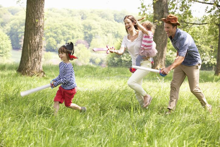 Get out and about this summer with your kids
