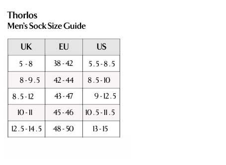 Thorlos - Men's Sock Size Guide