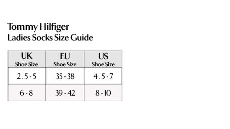 Tommy Hilfiger - Ladies Socks Size Guide