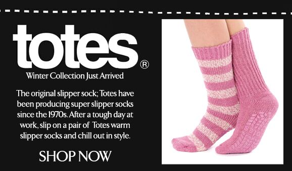 Shop Totes Slipper Socks >