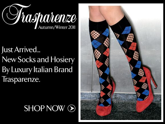 Trasparenze at SockShop