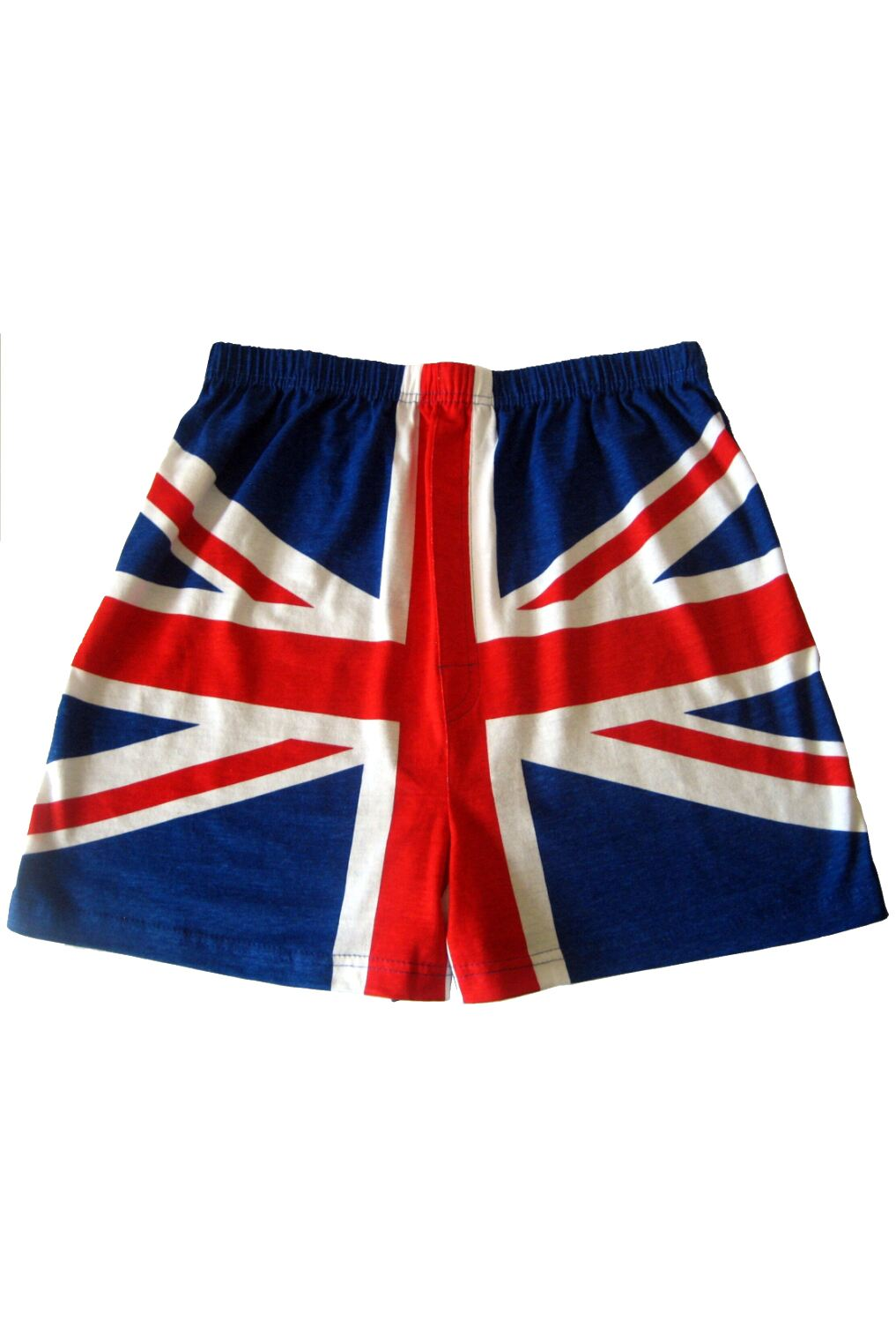 Image of 1 Pack Blue / Red Magic Boxer Shorts In Union Jack Pattern Men's Small - SOCKSHOP