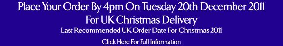 Last Recommended Order Dates For Christmas 2011 >