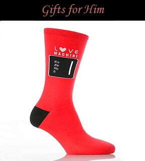 Valentine's Day Gifts for Him at SockShop.co.uk- Mens Socks, Novelty Socks, Luxury Socks, Patterned Socks, Gift Sets