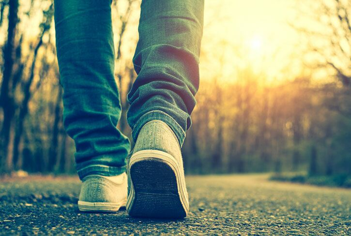 The benefits of walking for body and mind