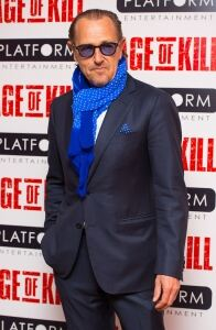 Well-kempt Kemps at movie premiere