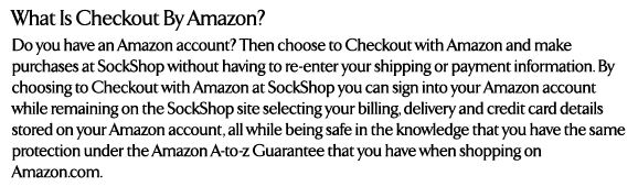 What is Checkout By Amazon?