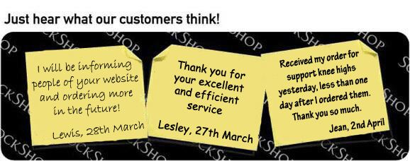 What our customers think at SockShop.co.uk - 11th April 2011