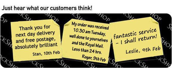 What our customers think at SockShop.co.uk - 14th February 2011