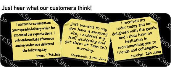 What our customers think at SockShop.co.uk - 18th July 2011