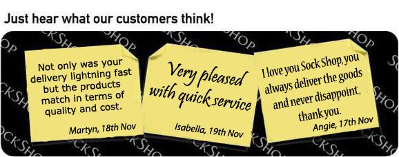 What our customers think at SockShop.co.uk - 22nd November 2010