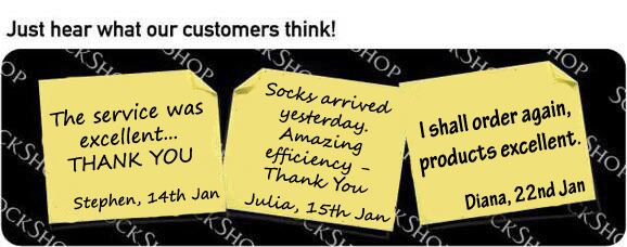 What our customers think at SockShop.co.uk - 24th January 2011