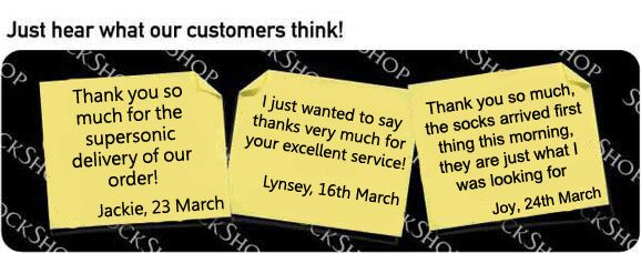 What our customers think at SockShop.co.uk - 28th March 2011