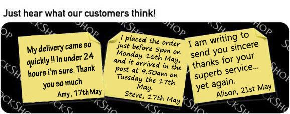 What our customers think at SockShop.co.uk - 31st May 2011