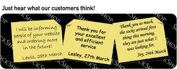 What our customers think at SockShop.co.uk - 4th April 2011