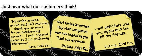 What our customers think at SockShop.co.uk - 4th January 2011