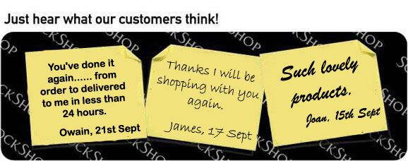 What our customers think at SockShop.co.uk - 4th October 2010