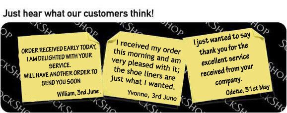 What our customers think at SockShop.co.uk - 6th June 2011