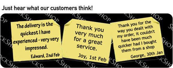 What our customers think at SockShop.co.uk - 7th February 2011
