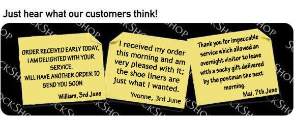 What our customers think at SockShop.co.uk - 13th June 2011