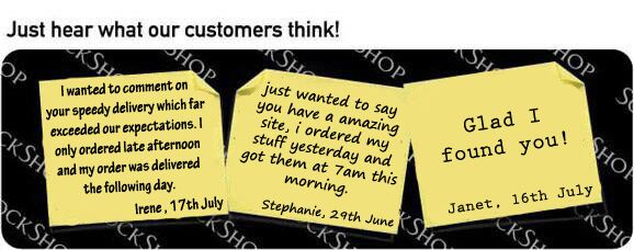 What our customers think at SockShop.co.uk - 25th July 2011