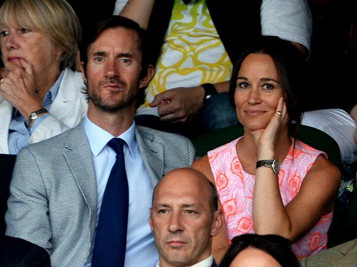 Pippa Middleton looking the part at Wimbledon. Anthony Devlin/PA Wire