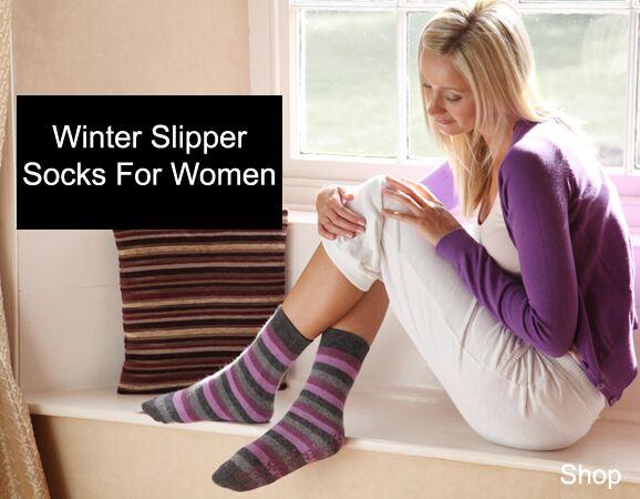 Winter Slipper Socks For Women >