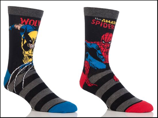 SockShop Marvel mix