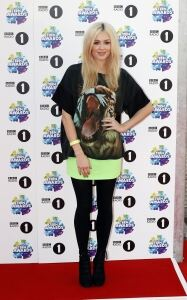 Woolly tights for Fearne Cotton