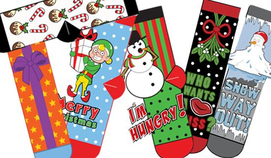 Christmas sock designs